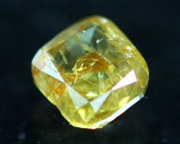 0.30Ct Natural Brilliant Champagne Color Fancy Diamond CF2917