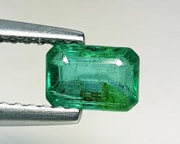 """0.55 ct """" AAA Grade  Gem """"  Fantastic  Octagon Cut Natural Emerald"""