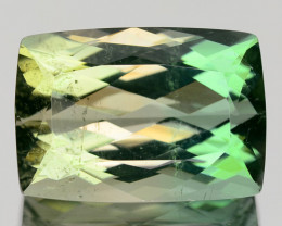 8.82 CTS RARE GREEN BI COLOUR NATURAL TOURMALINE GEMSTONE