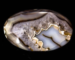 Montana Agate 21.82 ct Indonesia GPC Lab