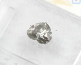 0.71ct Natural Fancy Dark Gray Diamond GIA certified