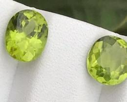 5.55 carats Amazing  Green color Peridot Gemstone from pakistan