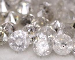 2.57Ct Natural Brilliant White Color Fancy Diamond Lot BM217