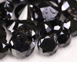 7.80Ct Natural Fancy Black Carbonado Diamond Lot BM227
