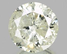 1.03 CTS UNTREATED YELLOWISH WHITE NATURAL DIAMOND