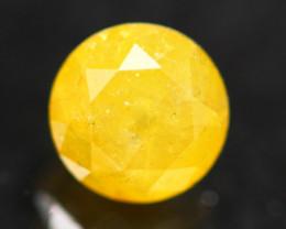 Diamond 0.56Ct Natural Yellow Color Fancy Diamond B3001