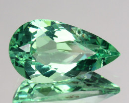 1.80 Cts Natural Apatite (Paraiba Color) Pear Cut Brazil