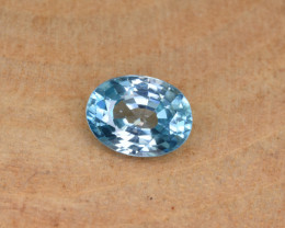 Natural Blue Zircon 1.94 Cts Top Luster Gemstone