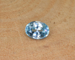 Natural Blue Zircon 1.97 Cts Top Luster Gemstone