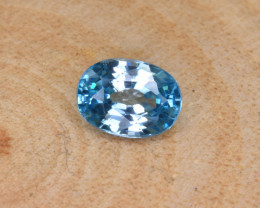 Natural Blue Zircon 2.14 Cts Top Luster Gemstone