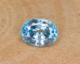 Natural Blue Zircon 2.24 Cts Top Luster Gemstone