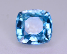 Top Blue ~2.10  Ct Natural Zircon From Cambodia