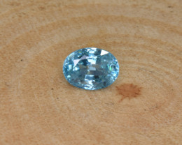 Natural Blue Zircon 2.29 Cts Top Luster Gemstone