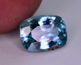 Top Blue ~3.10  Ct Natural Zircon From Cambodia