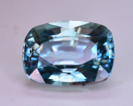 Top Blue ~2.60  Ct Natural Zircon From Cambodia