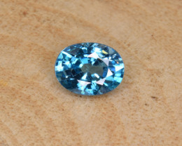Natural Blue Zircon 2.90 Cts Top Luster Gemstone