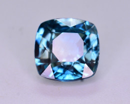 Top Blue ~2.45  Ct Natural Zircon From Cambodia
