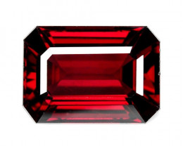 5.10 CTS UNHEATED NATURAL RED RHODOLITE GARNET GEMSTONE