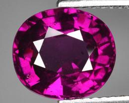 Rare 4.08 Cts Gorgeous Color Grape- Purple Garnet  ~ Mozambique PG11