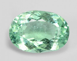 1.55 Cts Untreated Copper Bearing Blue Green Natural Paraiba Tourmaline