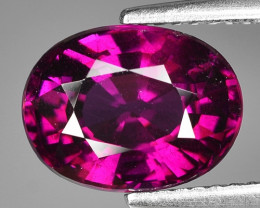 Rare 4.47 Cts Gorgeous Color Grape- Purple Garnet  ~ Mozambique PG12