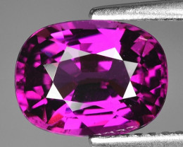 Rare 3.13 Cts Gorgeous Color Grape- Purple Garnet  ~ Mozambique PG13