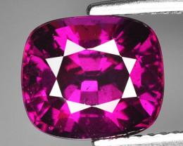 Rare 4.41 Cts Gorgeous Color Grape- Purple Garnet  ~ Mozambique PG14