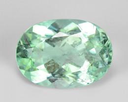 1.44 Cts Untreated Copper Bearing Blue Green Natural Paraiba Tourmaline
