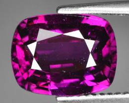Rare 4.77 Cts Gorgeous Color Grape- Purple Garnet  ~ Mozambique PG16