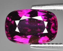 Rare 4.19 Cts Gorgeous Color Grape- Purple Garnet  ~ Mozambique PG17