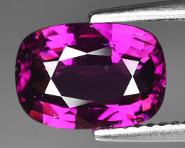 Rare 2.99 Cts Gorgeous Color Grape- Purple Garnet  ~ Mozambique PG19