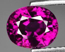 Rare 3.03 Cts Gorgeous Color Grape- Purple Garnet  ~ Mozambique PG20