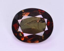 Rare 4.05 ct Multicolor Natural Axinite. HM