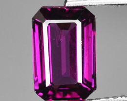 Rare 3.02 Cts Gorgeous Color Grape- Purple Garnet  ~ Mozambique PG27
