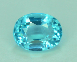 Great Luster 1.10 ct Apatite Mesmerizing Caribbean Color
