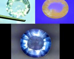4.85 cts Rare Tenebrescent Scapolite Gemstone