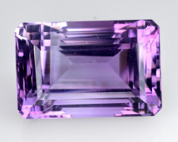 30.45 Ct  Natural Amethyst Top Quality Gemstone. AT 01