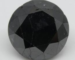2.29ct Black Diamond Round