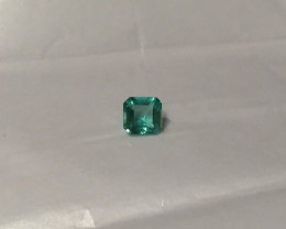 1,19ct  Colombian Natural Emerald Ref 37/43