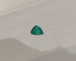 1,19ct  Colombian Natural Emerald Ref 38/43