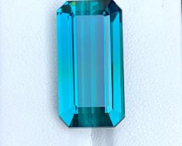 16.95 Carats Indicolite Tourmaline Gemstone