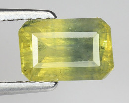 2.05 Ct Yellow Sapphire Top Quality  Gemstone. YS 01