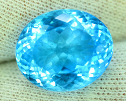 NR 26.30 cts Electric Blue Topaz Gemstone