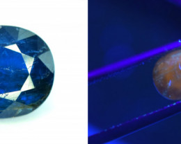 1.60 Carats Natural Rare Afghanite Gemstone