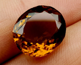 6.65 Crt Honey Quartz Natural Gemstones JI37