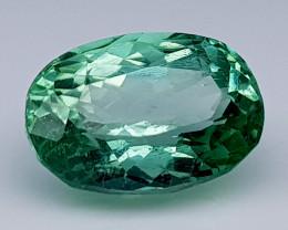 4.25 Crt Green Spodumene Natural Gemstones JI37