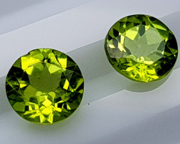 1.65 Crt Peridot Pair  Natural Gemstones JI37
