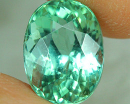 4.55 ct AIG CERTIFIED  Copper Bearing Mozambique Paraiba Tourmaline-PR474