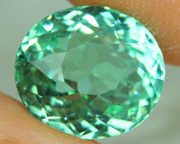 4.30 ct AIG CERTIFIED  Copper Bearing Mozambique Paraiba Tourmaline-PR478