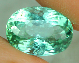 4.75 ct AIG CERTIFIED  Copper Bearing Mozambique Paraiba Tourmaline-PR479